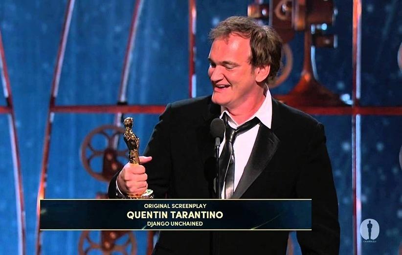 کوئنتین تارانتینو برنده جایزه بهترین فیلمنامه ارجینال اسکار برای جانگوی رها از بند