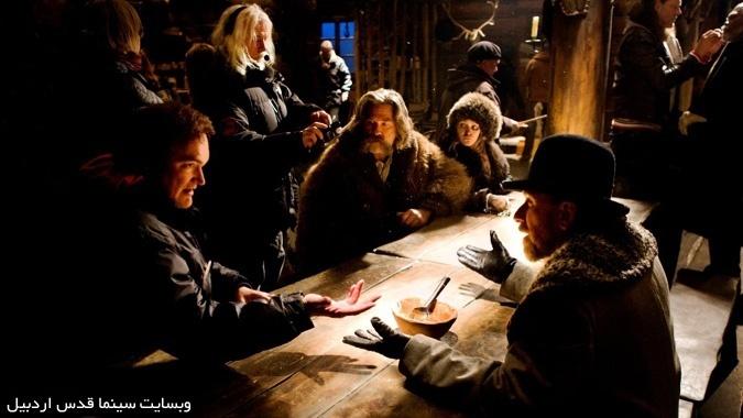 هشت نفرت انگیز - پشت صحنه فیلمبرداری این فیلم