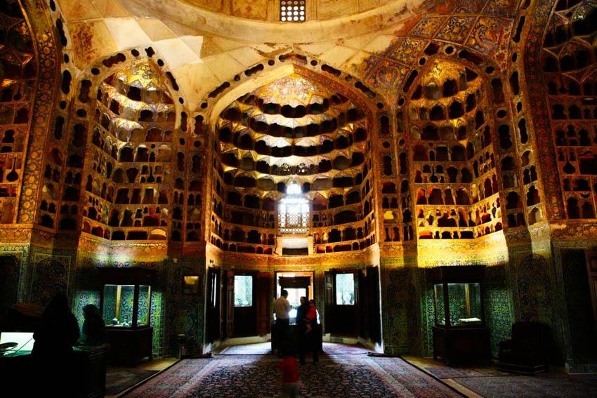 چینی خانه بقعه شیخ صفی الدین اردبیلی