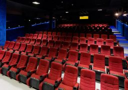 دکوراسیون داخلی سینما اطلس مشهد
