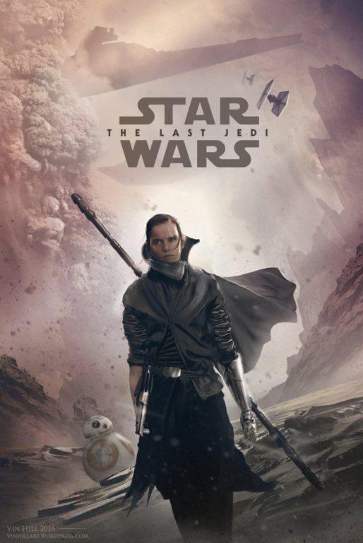 پوستر فیلم جنگ ستارگان: آخرین جدآی