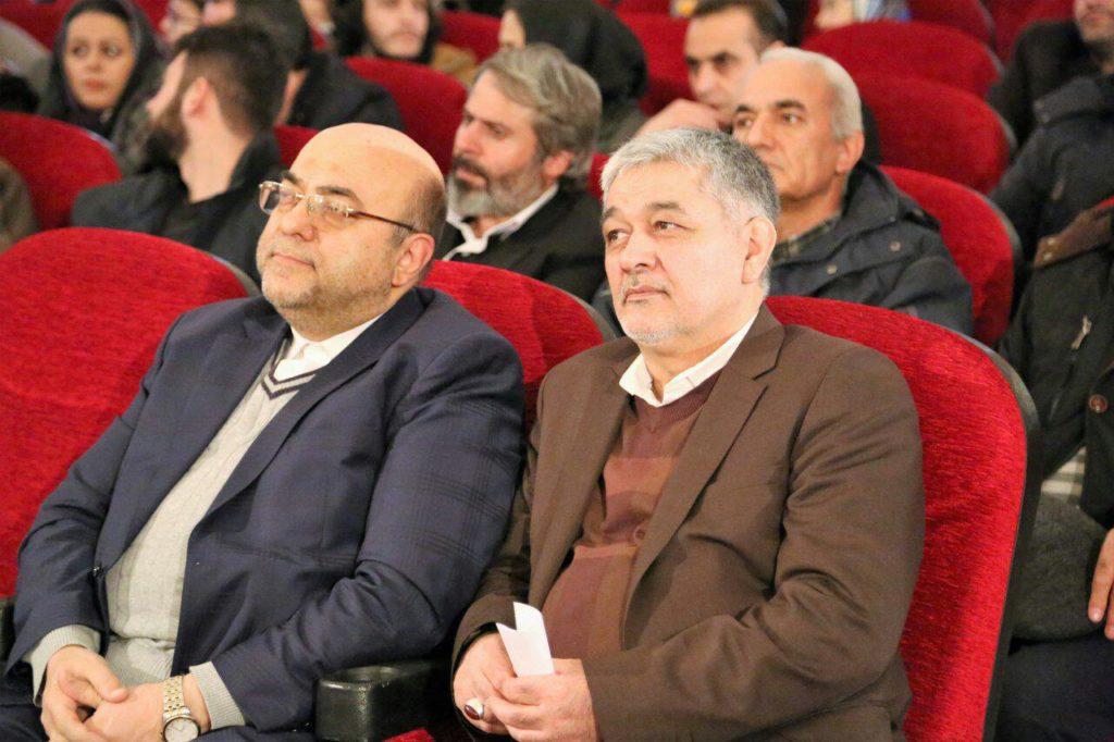 افتتاح سی و ششمین جشنواره فیلم فجر اردبیل - اسحاقی و نواداد