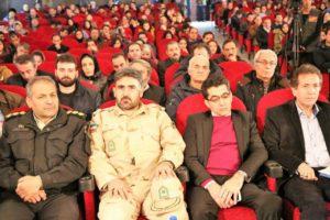 افتتاح سی و ششمین جشنواره فیلم فجر اردبیل - حضور مسئولین در افتتاح