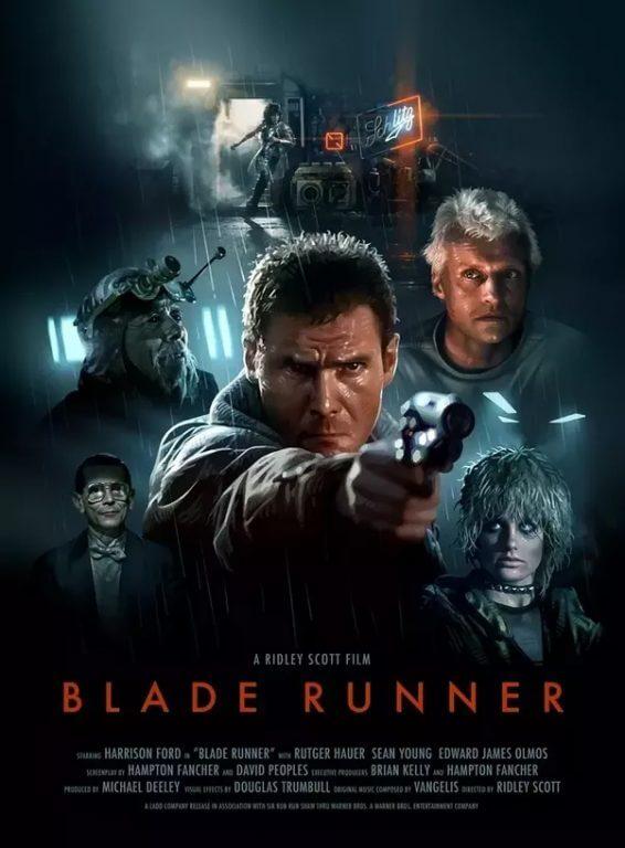 پوستر فیلم سینمایی «بلید رانر»