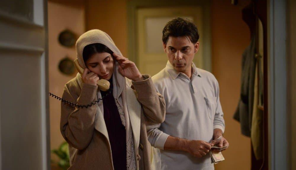 لیلا حاتمی و پیمان معادی در فیلم بمب: یک عاشقانه