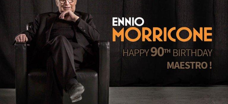 تجلیل از انیو موریکونه در ۹۰ سالگی