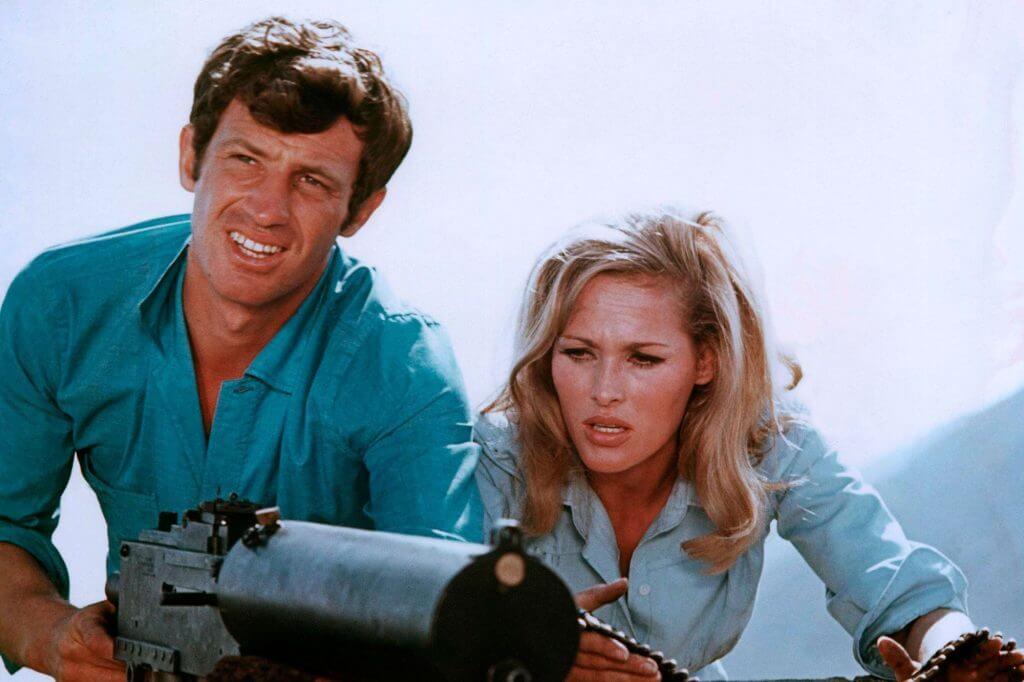 بلموندو در دهه ۱۹۷۰ در فیلمهای پلیسی پرهیجان ظاهر شد