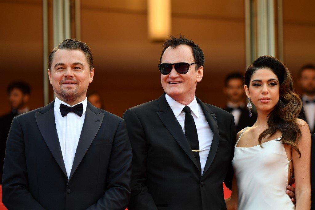 فرش قرمز جشنواره کن 2019: فیلم روزی روزگاری در هالیوود - استاد تارانتینو به همراه همسرش و لئوناردو دی کاپریو