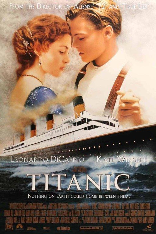 پوستر فیلم تایتانیک