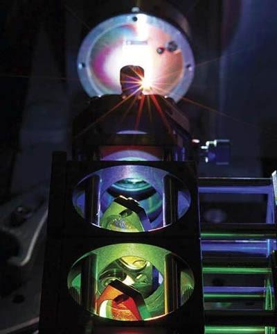 پرتورهای نور لیزر - شکل سه