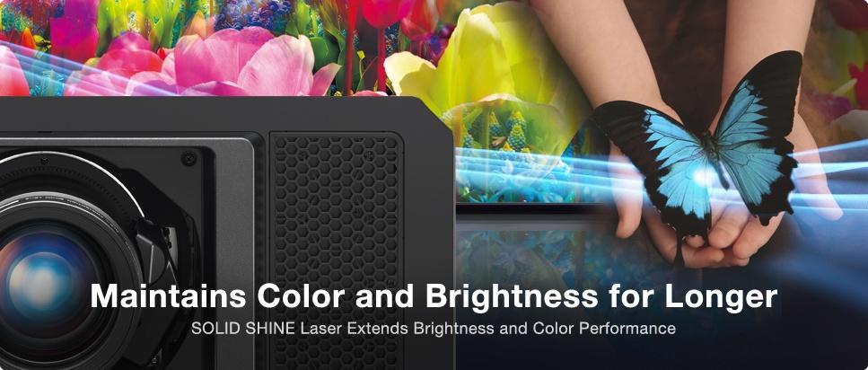 روشنایی و رنگ بسیار عالی با پروژکتورهای لیزری