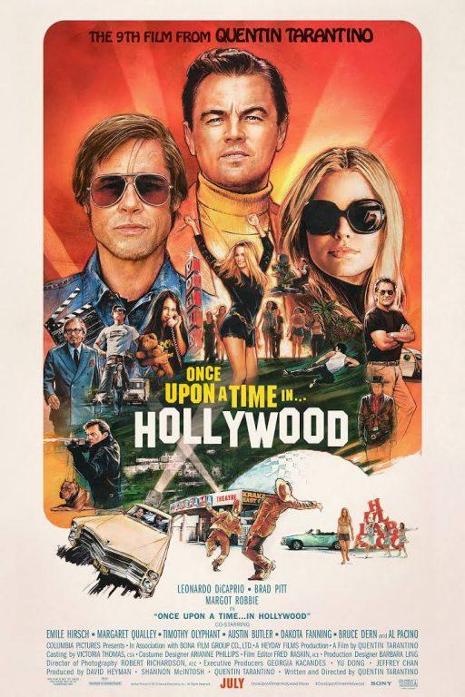 پوستر فیلم سینمایی روزی روزگاری در هالیوود