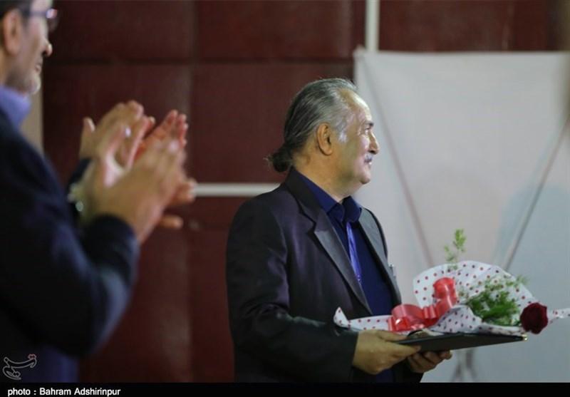 تقدیر از استاد صابر فرزانه وش – در سی و هفتمین جشنواره فیلم فجر – سینما انقلاب اردبیل