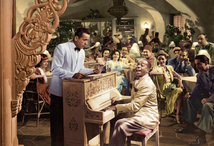 فیلم کازابلانکا - کافه ریک