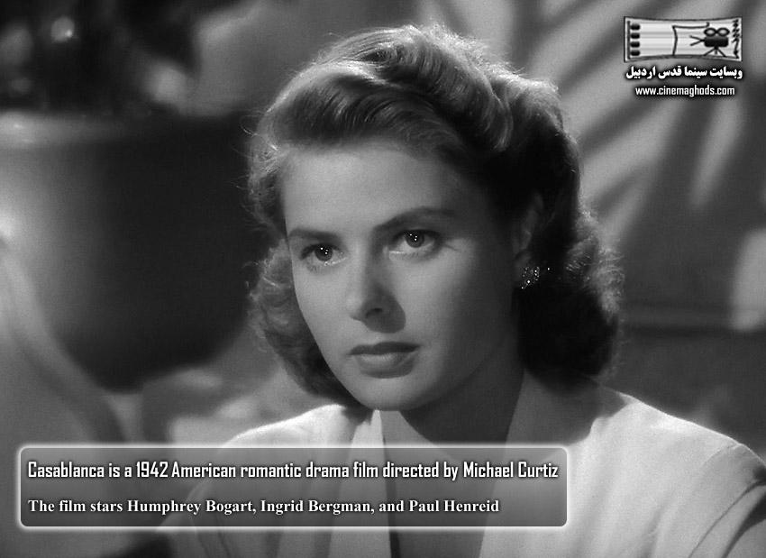 Casablanca is a 1942 American romantic drama film directed by Michael Curtiz