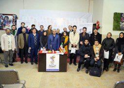 عکس دسته جمعی در جشنواره فیلم فجر استانی – سال ۱۳۹۷ – سینما انقلاب اردبیل