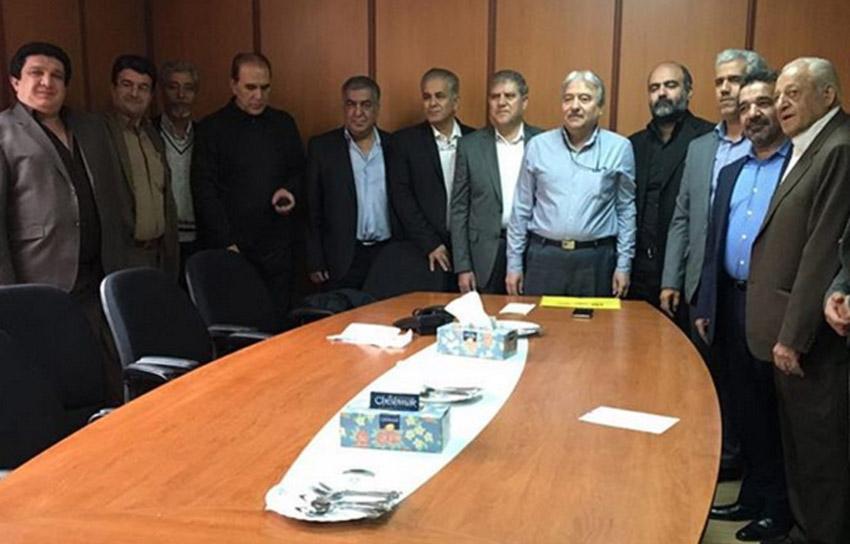 اعضای هیئت مرکزی انجمن سینماداران ایران