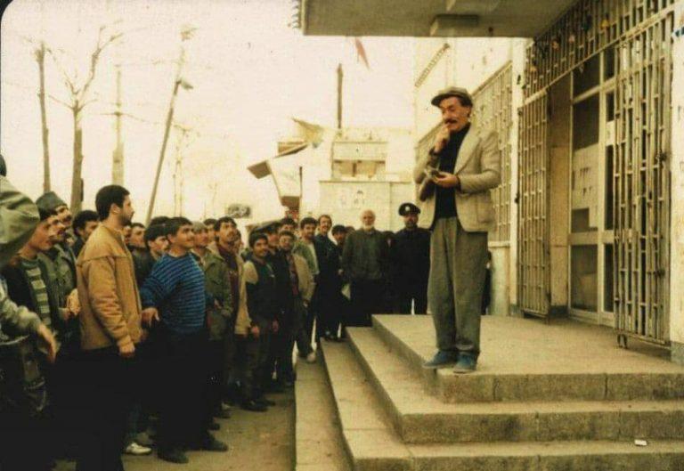 هنرمند مردمی اردبیل، احمد فیضی درگذشت