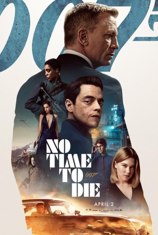 پوستر رسمی فیلم no_time_to_die
