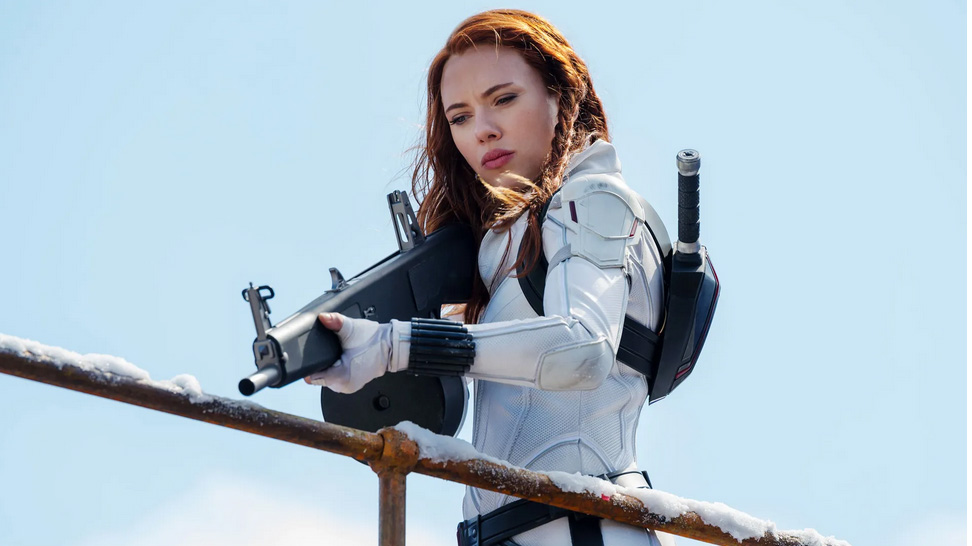 اسکارلت جوهانسون در فیلم Black Widow
